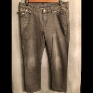 Rock & Republic cropped jeans.